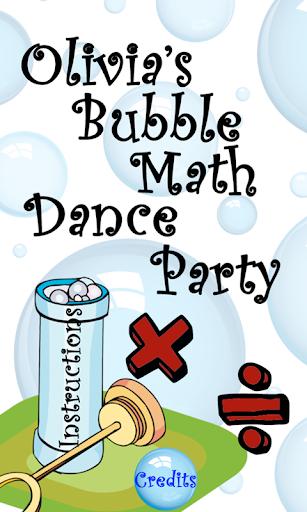 Bubble Math Dance Party