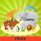 The animal world for toddlers! icon