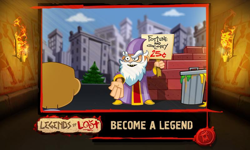 Legends of Loot - screenshot