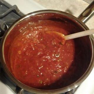 Spaghetti Sauce.