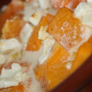 Pumpkin with Feta Cheese