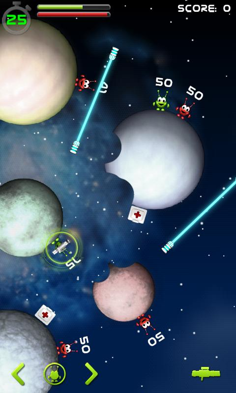 Gravity Wars Alpha - screenshot