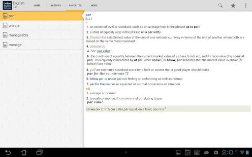 Collins English Dictionary|玩書籍App免費|玩APPs