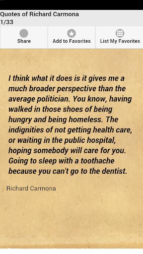 Quotes of Richard Carmona