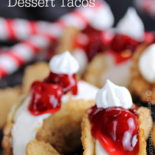 Cheesecake Dessert Tacos!