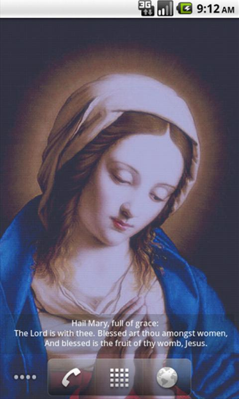 Virgin Mary LWP Free - screenshot