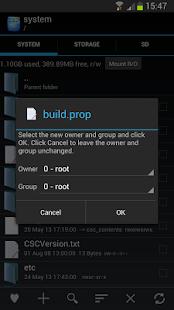 Root Explorer – miniaturka zrzutu ekranu