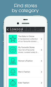 London Shopping Guide screenshot 1