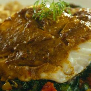 Fish And Spinach Masala