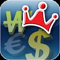 환전왕 Plus, 16개 은행 환율정보 logo