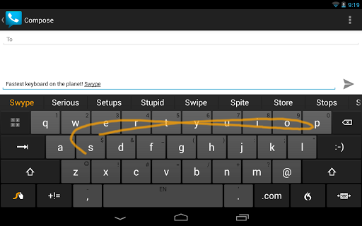 Swype Android