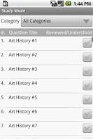 Screenshot of AP Art History Exam Prep