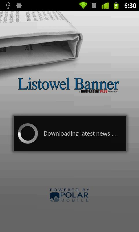 Listowel Banner - screenshot