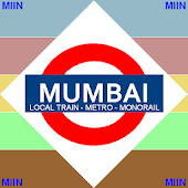 Mumbai Train Route Planner Map