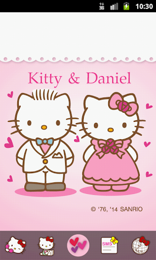 Hello Kitty Happy Love You