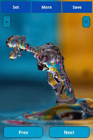 Water splash wallpapers