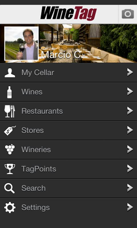 WineTag - screenshot