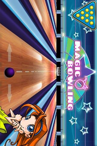 Magic Bowling LITE- screenshot