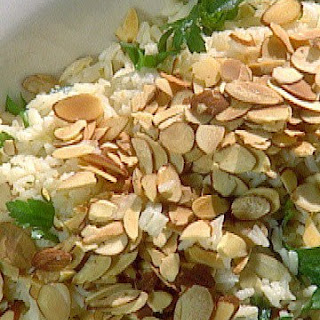 Rice Pilaf with Almonds.