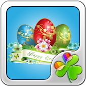 GO Launcher Happy Easter theme