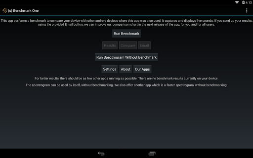 【免費工具App】)s) Benchmark One Free-APP點子