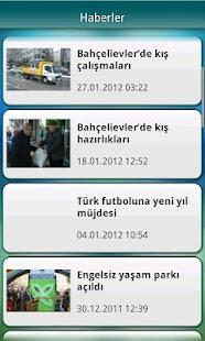 Bahçelievler Belediyesi - screenshot thumbnail
