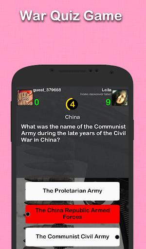 戰爭史問答游戲