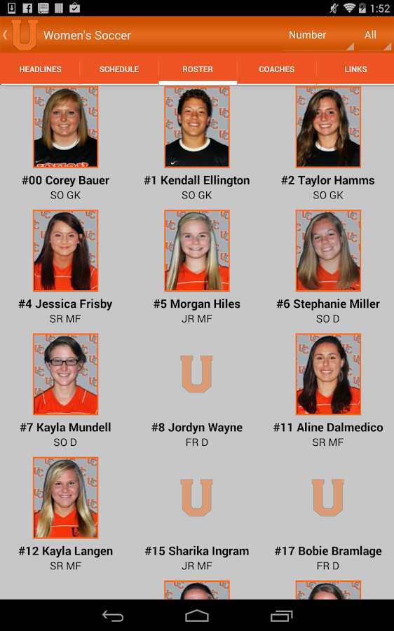 Union College Bulldogs - screenshot
