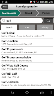 Scorecard - GOLF NETWORK PLUS - screenshot thumbnail