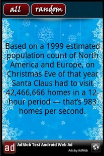 Christmas Facts - screenshot thumbnail