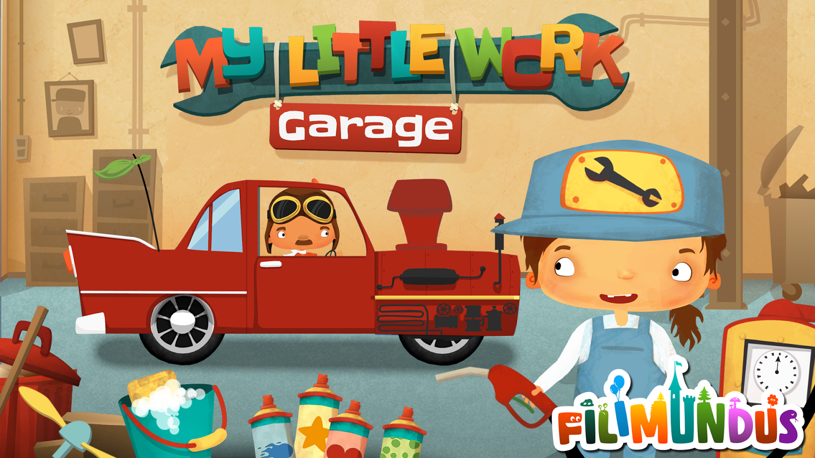 My Little Work – Garage- screenshot