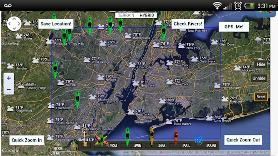 RiverMaps- The River Authority screenshot