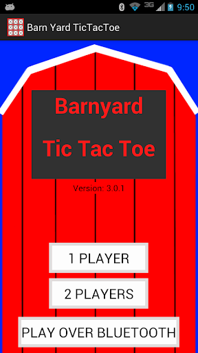 Barn Yard TicTacToe
