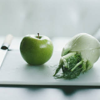 Fennel and Apple Salad with Toasted Fennel Seed Vinaigrette.