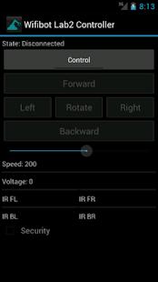Wifibot Controller- screenshot thumbnail