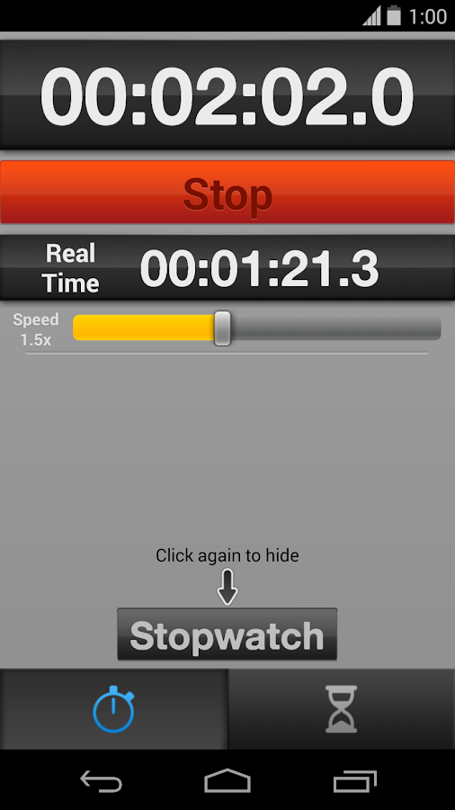 Fake Stopwatch & Timer- screenshot