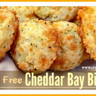 Gluten Free Cheddar Bay Biscuits.