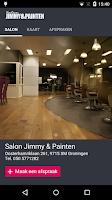 Screenshot of Salon Jimmy & Painten