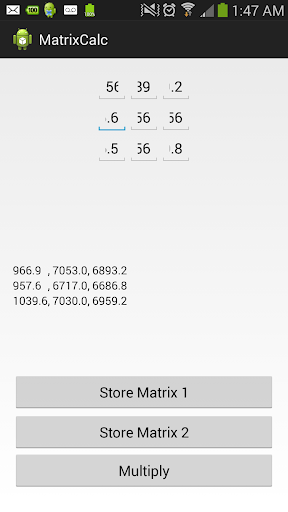 Matrix Calculator beta