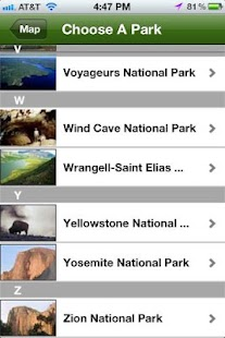 National Parks Wildlife Guide - screenshot thumbnail
