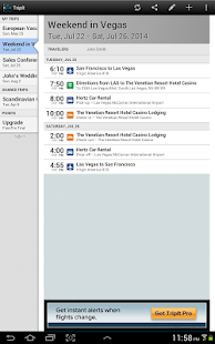 TripIt Travel Organizer – Free - screenshot thumbnail