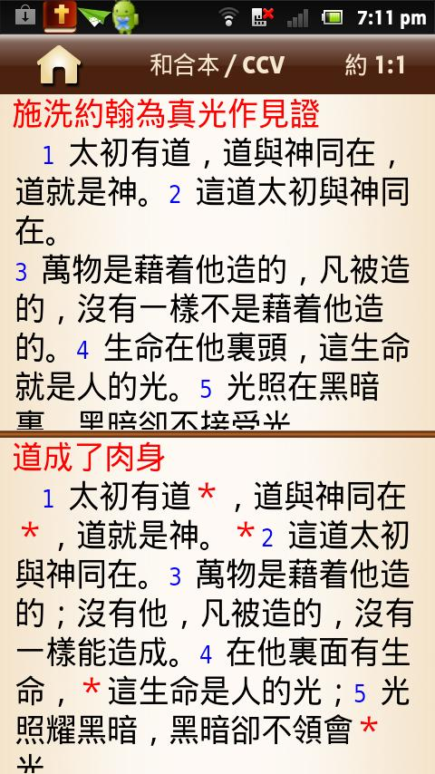 Chinese Bible - screenshot