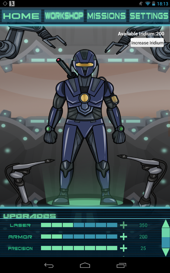 BattleSuit Runner Fitness- screenshot