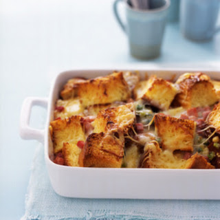 Brunch Casserole With Asparagus and Ham