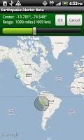 Screenshot of Earthquake Alerter Pro