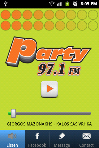 PARTY 97.1- screenshot