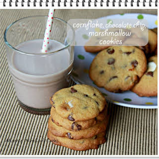 Chocolate Chip Marshmallow Cookies.