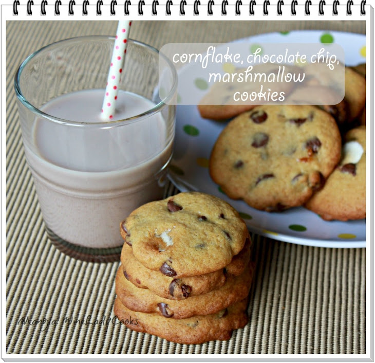 Chocolate Chip Marshmallow Cookies Recipe