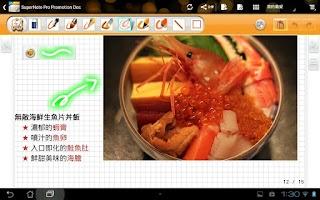 Screenshot of SuperNote Pro