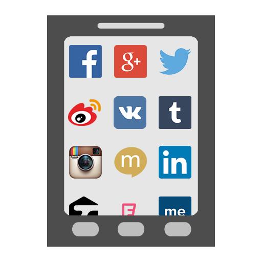 Social Sites Browser 社交網站瀏覽器 社交 LOGO-阿達玩APP
